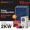 Moregosolar on grid 2kw solar energy system home with 270w solar panel in China